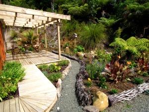 Our west garden